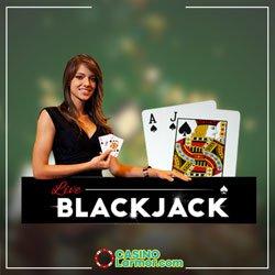 Le blackjack live sur les casinos en ligne de la France